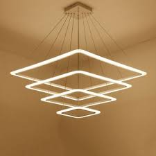led pendant lights acrylic metal