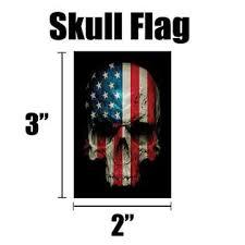 America First American Flag Skull Flag Hardhat Helmet Stickers 4 Decal Value Pack Great For Motorcycle Biker Helmet Co
