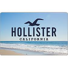 hollister co gift card 25 50 or