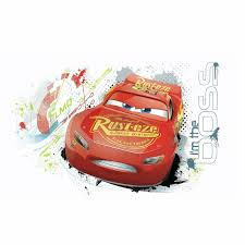 Room Mates Cars 3 Lightning Mcqueen Peel And Stick Wall Decal Reviews Wayfair