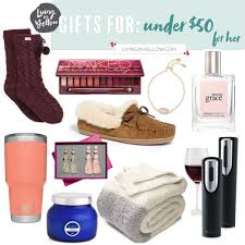 gift guide under 50 for her