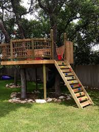 Super Dad Treehouse Simple Tree House Tree House Diy Tree House Plans