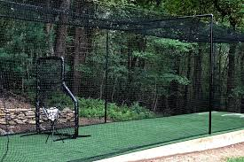 build a batting cage for your backyard