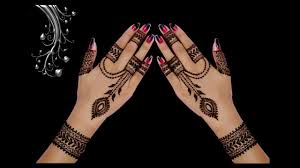 mehndi design photo in hindi