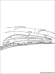 Kleurplaten Elektrische Locomotief Gratis Kleurplaten