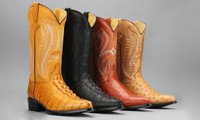 exotic print western cowboy boots