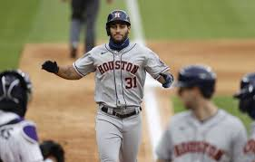 Astros win 8th straight, pounding Rox with 2 5-run frames - The  Edwardsville Intelligencer