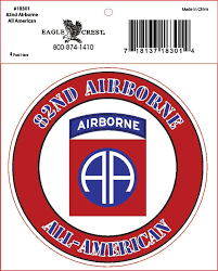 Army 82nd Airborne Division Military Window Decal 82nd Airborne Division Airborne Airborne Army
