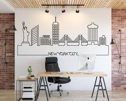 New York Skyline Wall Decal Kuarki Lifestyle Solutions
