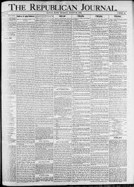 The republican Journal: Vol. 80, No. 34 - August 20,1908