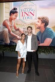 Christina Milian, Adam Demos - Adam Demos Photos - Netflix 'Falling Inn  Love' Cast And Crew Screening - Zimbio