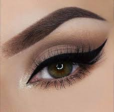 gorgeous and trendy brown eyes makeup