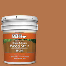 Behr 5 Gal Sc 533 Cedar Naturaltone Solid Color House And Fence Exterior Wood Stain 03005 The Home Depot