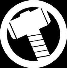 Thor Hammer Mjolnir Die Cut Vinyl Car Window Decal Bumper Sticker Us Seller 5 99 Picclick