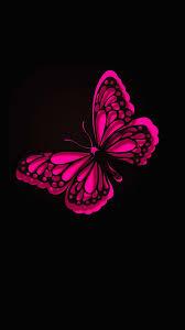 iphone wallpaper hd pink erfly