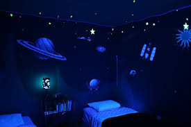 Outer Space Wall Sticker Decals For Boys Room Wall Mural Etsy Space Themed Bedroom Space Themed Room Outer Space Bedroom