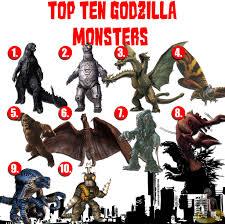 Godzilla Monsters