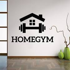 Cartoon Gym Decoration Vinyl Wall Decals For Fitness Rooms Decor Gym Sticker Wall Decal Wallpaper Adhesivo Gimnasio Wall Stickers Aliexpress