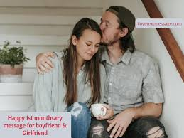 happy st monthsary messages for boyfriend and girlfriend st month