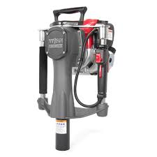 Titan Post Drivers Contractors Series 4 Stroke Gas Powered Post Driver Pgd2000 The Home Depot