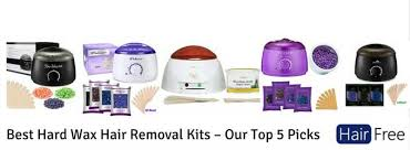 best hard wax hair removal kits our