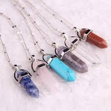 healing stone hanger bullet jade
