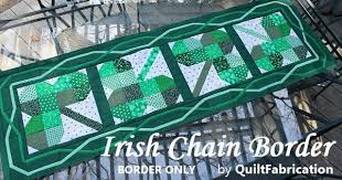 Clover Irish Chain Table Runner Pattern