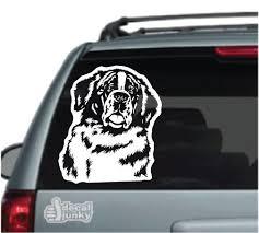 St Bernard Car Decals Stickers Decal Junky