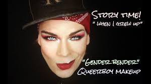 boy makeup gender bender story time
