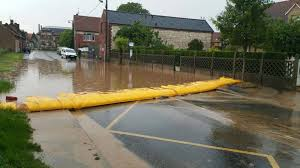 flood barriers sandbags and