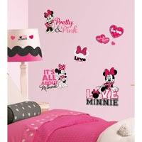 Pink Kids Wall Decals Stickers Walmart Com