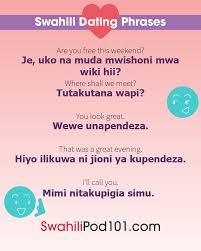 how to say i love you in swahili r tic word list