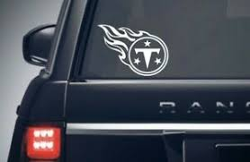 Tennessee Titans Nfl Football Decal Car Truck Window Sticker Vinyl Decal Ebay