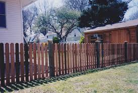 Fence City 48 Red Cedar Dog Eared Top Spaced Picket
