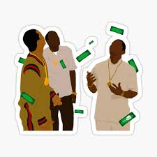 Paid In Full Sticker By Wakingdream Redbubble