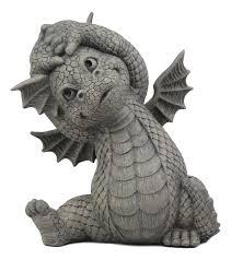 ebros whimsical garden dragon morning