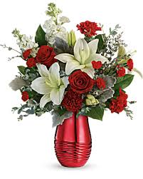 radiantly rouge bouquet in naples fl