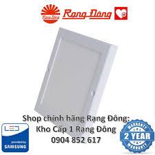 Đèn LED Ốp Trần Siêu Mỏng Rạng Đông 18W 220x220mm, ChipLED Samsung, Kiểu  Dáng Hàn Quốc Mới