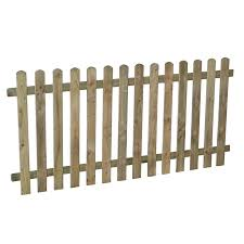Forest 5 11 X 2 11 Heavy Duty Pressure Treated Pale Picket Fence Panel 1 8m X 0 9m Buy Fencing Direct