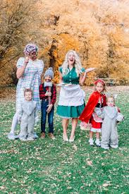 family halloween costumes little red