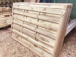 4 X 6 Hit Miss Style Fence Panels Tanalised New Available Immediately In Tarporley Cheshire Gumtree