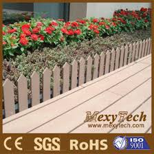 China Garden Fence Wood Plastic Composite Picket Fencing With Ce Certificate China Picket Fencing And Composite Fence Price