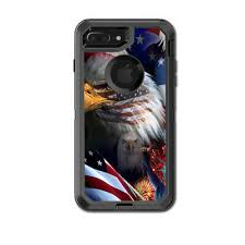 Skin Decal For Otterbox Defender Iphone 7 Plus Case Usa Bald Eagle In Flag 9 49 Picclick