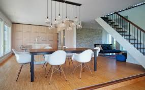 dining table height of lamp
