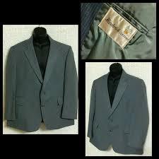 vtg hardwick clothes mens gray grey