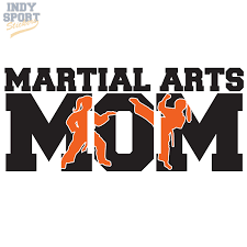 Martial Arts Mom Multiple Color With Girl Female Silhouettes Car Stickers And Decals