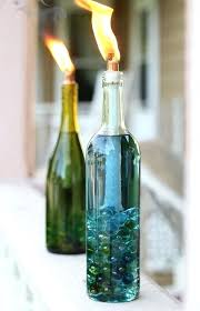 glass bottle home decor 3 simple ideas