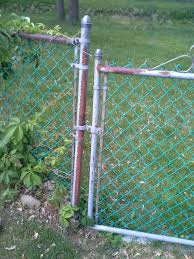 How Can I Fill In The Gap Between My Chain Link Fence And Its Gate Home Improvement Stack Exchange