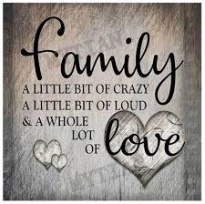us seller xcm our family crazy loud a whole lot of love