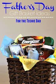 gift basket ideas for the techie dad